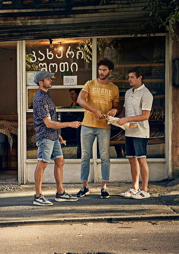 Camel-Active_Shirt_Hose_Shorts_Schuhe_Polo